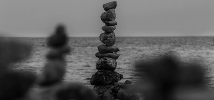 *balancing stones*
